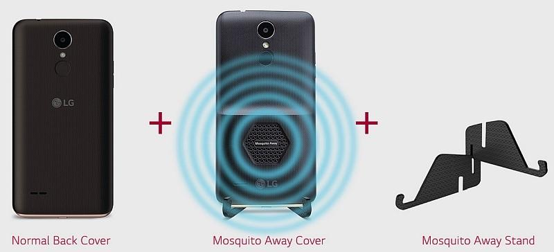 LG giới thiệu điện thoại siêu dị có tính năng đuổi muỗi