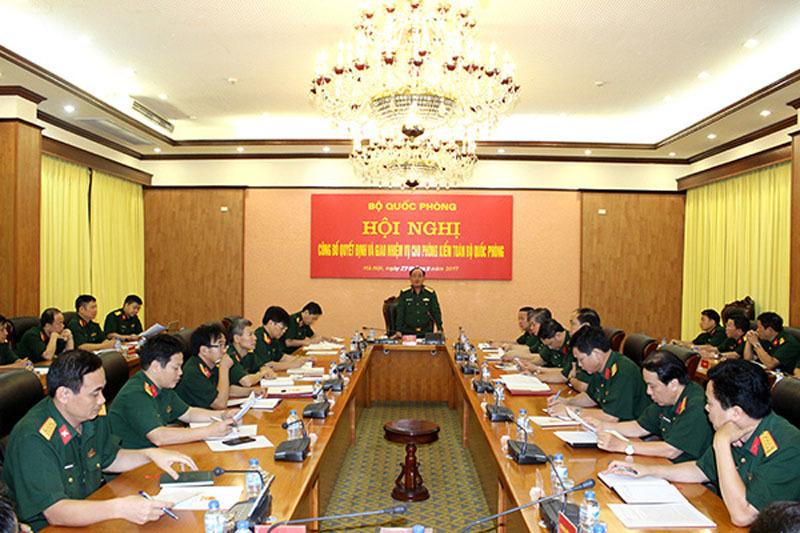 Bộ Quốc phòng, Bộ Tư lệnh QK 4 công bố quyết định tổ chức, nhân sự