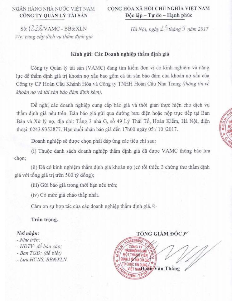 Tập đoàn Hoàn Cầu của bà Tư Hường bị xiết nợ