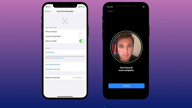 Face ID, nhận diện mặt, Apple, iPhone X