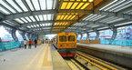 Chạy thử tàu đường sắt trên cao Cát Linh - Hà Đông