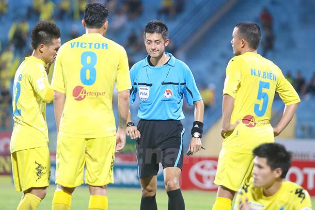 v-league 2017, Ban trọng tài, Nguyễn Văn Mùi, trọng tài