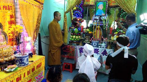 Tang lễ danh hài Khánh Nam