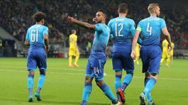 Walcott chói sáng, Arsenal thắng tưng bừng ở Europa League
