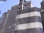Tháp kim loại bí ẩn bất ngờ mọc lên ở New York