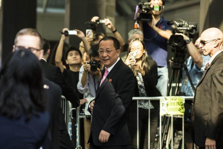 Ngoại trưởng Triều Tiên,Ri Yong Ho