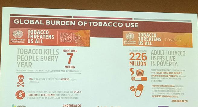 Thị trưởng dẫn đầu chiến dịch chống thuốc lá