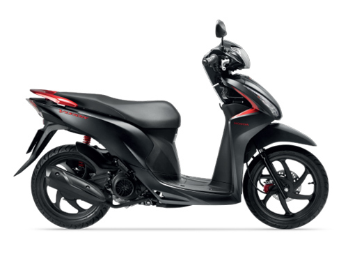 Honda Vision có thêm 2 màu mới