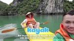 Học tiếng Anh qua trải nghiệm chèo thuyền kayak