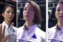 Robot hotgirl gây choáng vì quá giống người thật