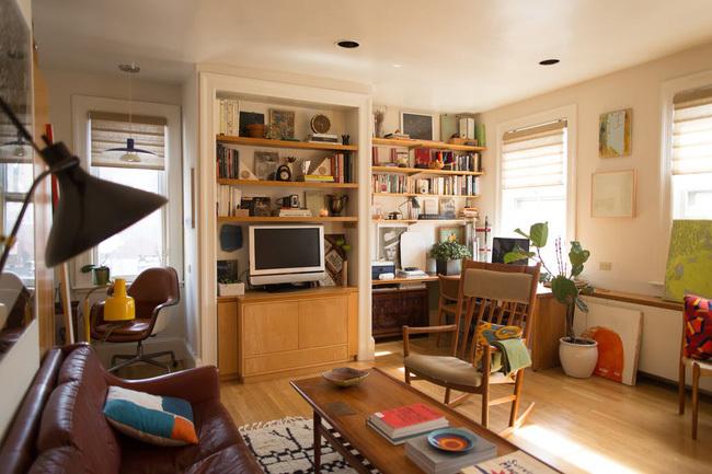 Mê mẩn căn hộ 40m2 biến hóa đầy trang nhã và tiện nghi với nội thất toàn bằng gỗ