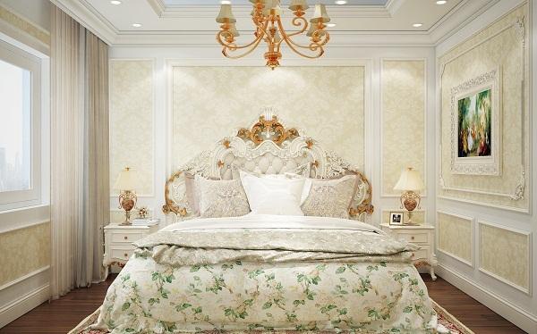 KTS tư vấn thiết kế căn hộ theo phong cách tân cổ điển chi phí 620 triệu đồng