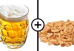 Uống bia với lạc gây hại sức khỏe?