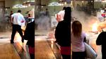 Ván trượt Hoverboard bất ngờ phát nổ dữ dội giữa trung tâm thương mại