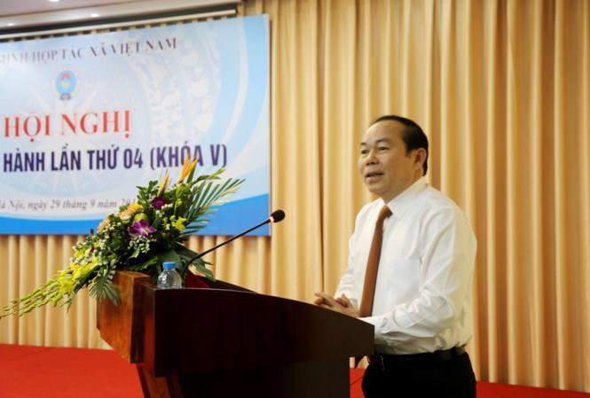 Ông Võ Kim Cự thôi làm Chủ tịch Liên minh HTX Việt Nam