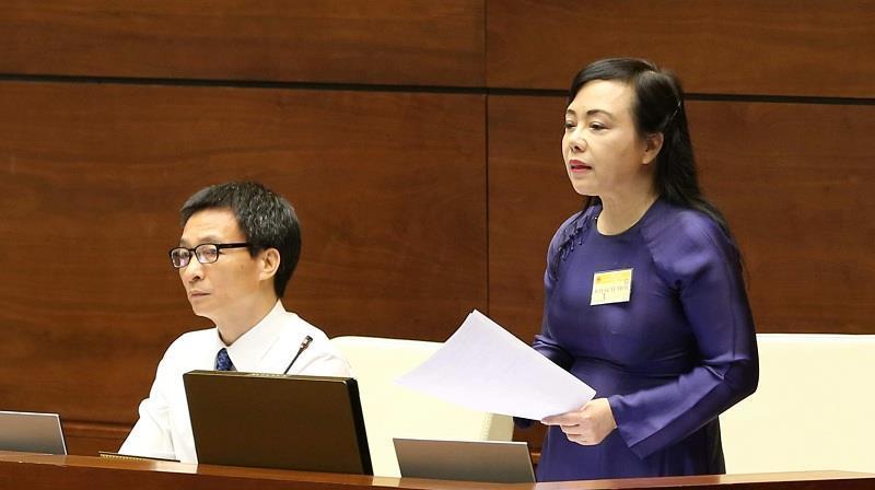 Bộ trưởng Y tế, Nguyễn Thị Kim Tiến