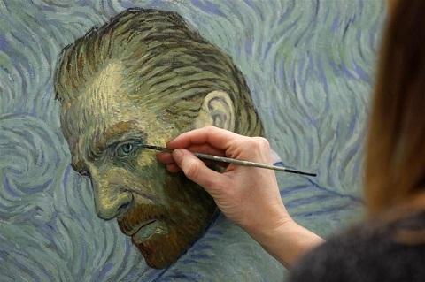 Loving vincent, Van Gogh, phim chiếu rạp