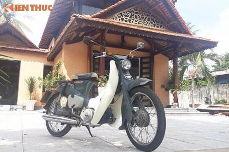 'Sắt vụn hàng hiếm' Honda Super Cub giá 65 triệu tại Việt Nam