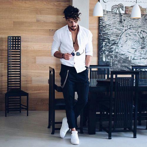 Đơn giản để tạo sự khác biệt với phong cách basic cho nam giới