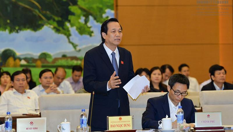 Bộ trưởng Đào Ngọc Dung, Bộ trưởng, Đào Ngọc Dung, xuất khẩu lao động