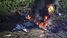Rơi máy bay quân sự ở Congo, hàng chục người chết