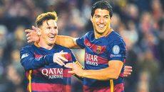 Mourinho nổi cáu, Messi cãi nhau vì Suarez