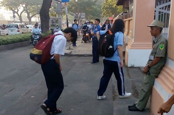 THPT Lê Hồng Phong, học sinh, đời sống trường học, hạnh kiểm