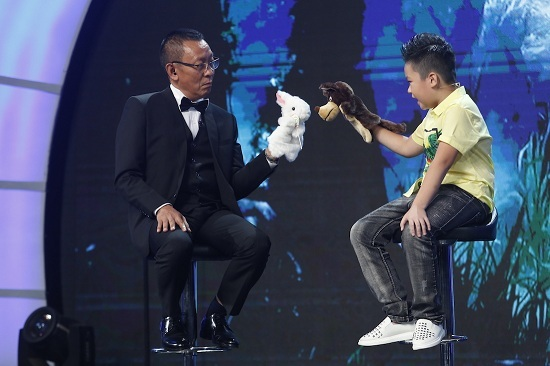 Show mặt trời bé con, siêu sao nhí, MC Lại Văn Sâm