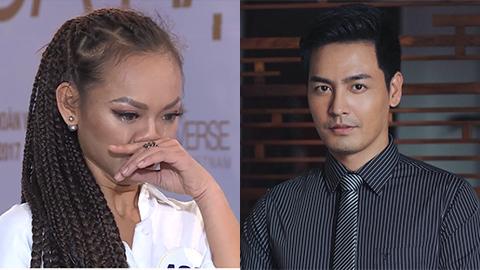 Mai Ngô khóc vì bị phê bình thiếu tôn trọng giám khảo HH Hoàn vũ Việt Nam