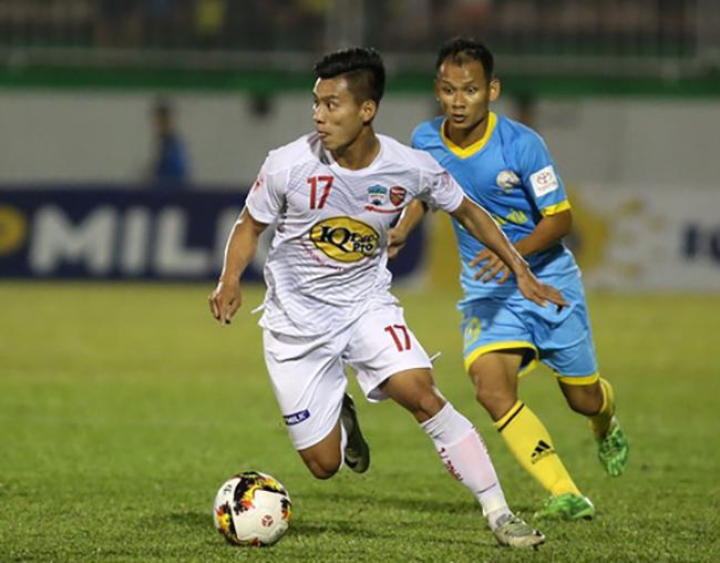 HAGL, Công Phượng, v-league 2017