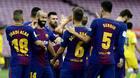 Messi ghi cú đúp, Barca lập kỷ lục toàn thắng