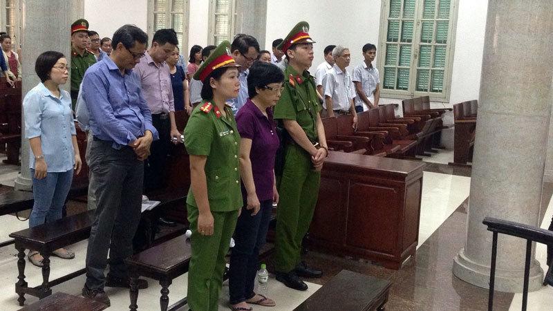 Cựu đại biểu QH Châu Thị Thu Nga hầu tòa
