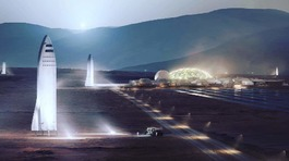 Elon Musk: Con người sẽ du hành lên sao Hỏa vào năm 2024