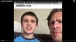 Cuộc hội thoại của hai cha con tự kỷ gây xúc động