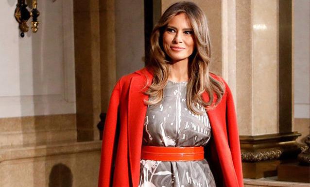 Melania Trump, Đệ nhất phu nhân Mỹ