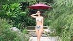 Lã Thanh Huyền mặc bikini khoe dáng chuẩn