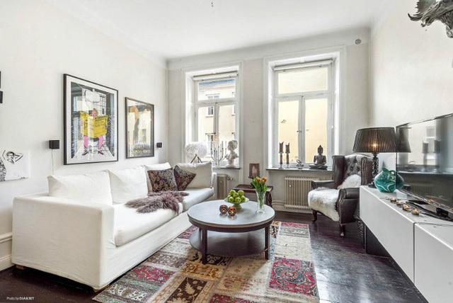 nhà đẹp, căn hộ, căn hộ 35m2, nội thất, thiết kế