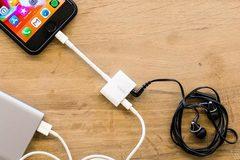 Apple bán cáp tích hợp Lightning, giắc 3,5mm cho iPhone mới