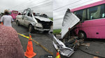 Xe khách đấu đầu 6 người chết: Tài xế có biểu hiện ngủ gật
