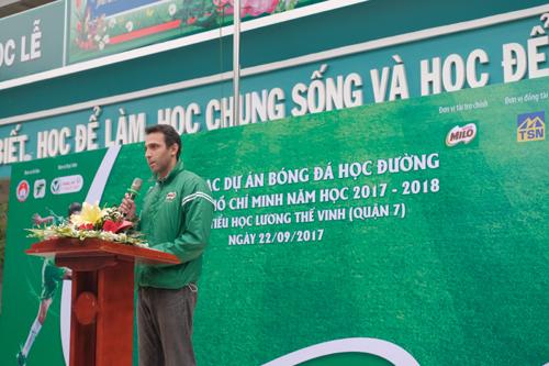 Festival Bóng đá Học đường hút gần 2.000 'chân sút' nhí TP.HCM