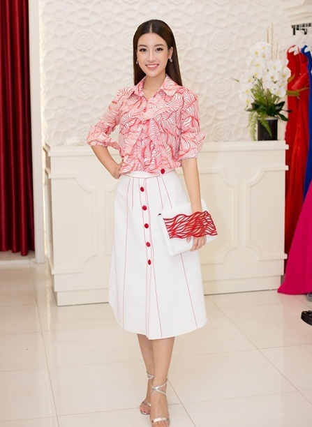 Hoa hậu Mỹ Linh, Mỹ Linh, sự kiện thời trang
