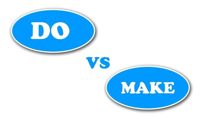 """Học tiếng Anh: Phân biệt """"make"""" và """"do"""""""