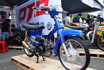 Dân chơi chi hơn 100 triệu đồng độ xe máy Honda Dream Thái siêu chất