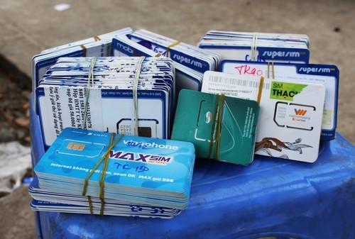 Viễn thông, Chuyển mạng giữ số, Chuyển mạng giữ nguyên số, SIM rác