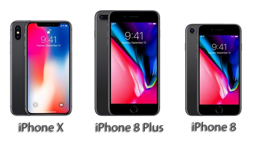 iPhone X, iPhone 8, iPhone 8 Plus, Apple, smartphone