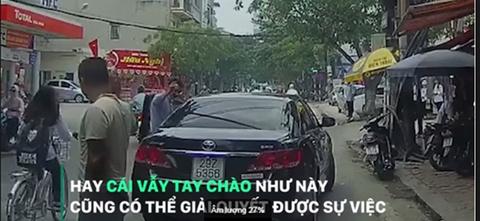 Quệt xe trên đường và hành động của hai tài xế khiến nhiều người ngỡ ngàng