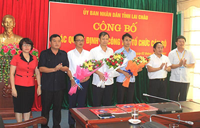 Công bố quyết định cán bộ của Bộ Công an