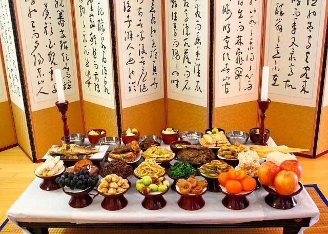 Tết Trung thu, lễ hội Chuseok, cô dâu ngoại quốc