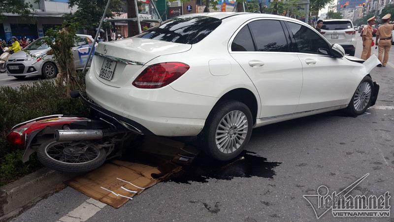 tai nạn, tai nạn giao thông, Hà Nội, tai nạn liên hoàn