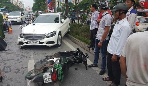 tai nạn liên hoàn trên Xã Đàn